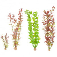 Marineland Tall Plastic Plant Assortment A1 4pk