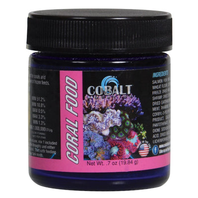 Cobalt Aquatics Coral Food Powder, 0.7 oz