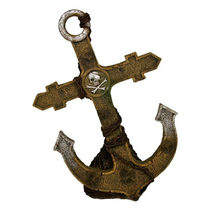 Blue Ribbon Exotic Environments Pirate Ship Anchor - Large