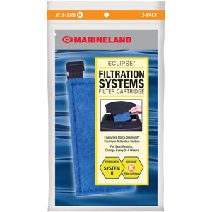 Marineland Rite-Size Cartridge Refills 3-Pack K - Orange