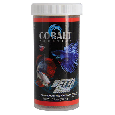 Cobalt Betta Mini Floating Pellets 3.2 oz