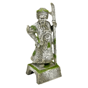 Blue Ribbon Exotic Environments Thai Warrioi Statue with Moss