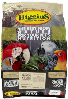 Higgins Sunburst Treats Fruit to Nuts 20lb