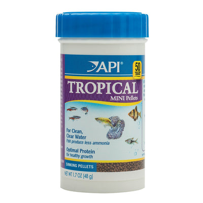 API Tropical Mini Pellet 1.7 oz.