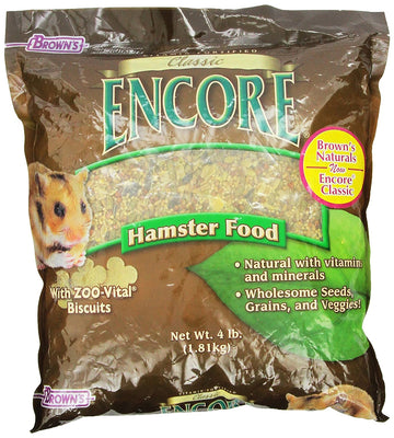 FM Brown's Encore Classic Hamster Food 4lbs