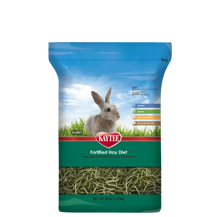 Kaytee Fortified Hay Diet for Rabbits 40 Ounce