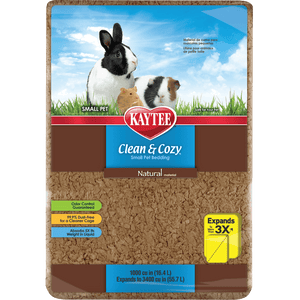 Kaytee Clean & Cozy Natural Bedding 1000 Cubic inch
