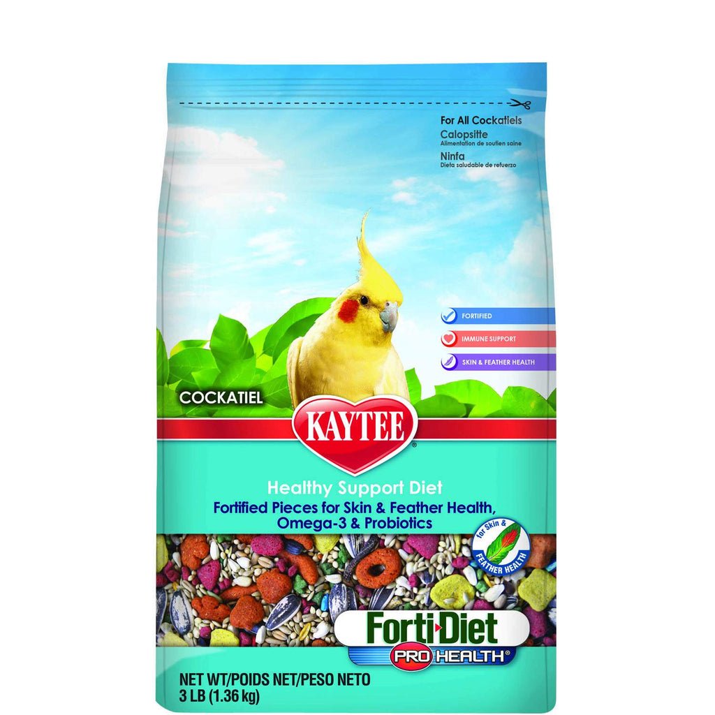 Kaytee Forti-Diet Pro Health Cockatiel Food