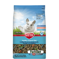 Kaytee Forti-Diet Pro Health Chinchilla Food 3 Pound
