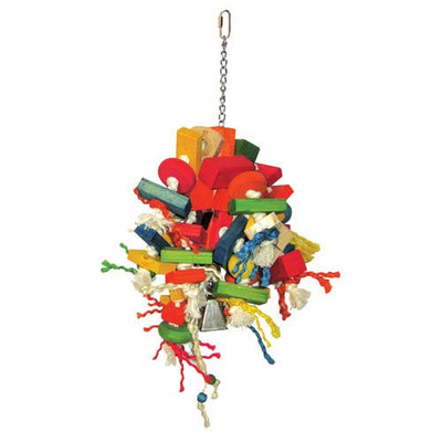 A&E Cage Large Cluster Blocks Bird Toy