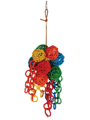 A&E Cage Vine Foraging Balls Bird Toy - Large