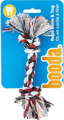 Aspen Pet Multi-Color 2-Knot Rope Bone