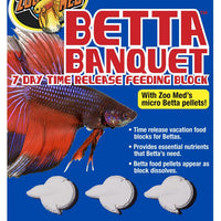 Zoo Med Betta Banquet Blocks 6 Card