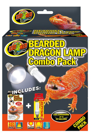 Zoo Med Bearded Dragon Lamp Combo Pack