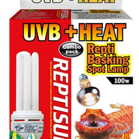 Zoo Med Heat & UVB Combo Pack 100 Watts