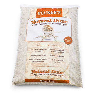 Fluker's Natural Dune All Natural Sand Bedding - 10 lb
