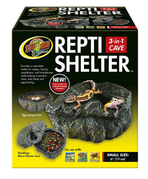 Zoo Med Repti-Shelter 3 In 1 Cave Medium