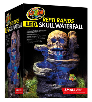 Zoo Med Repti Rapids LED Waterfall Skull