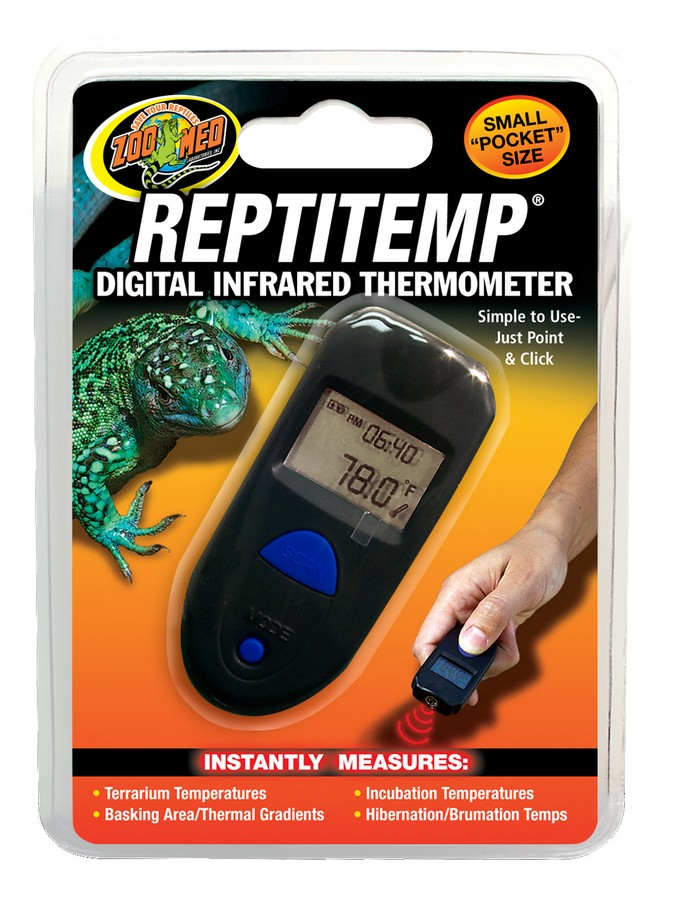 Zoo Med Reptitemp Digital Infared Thermometer