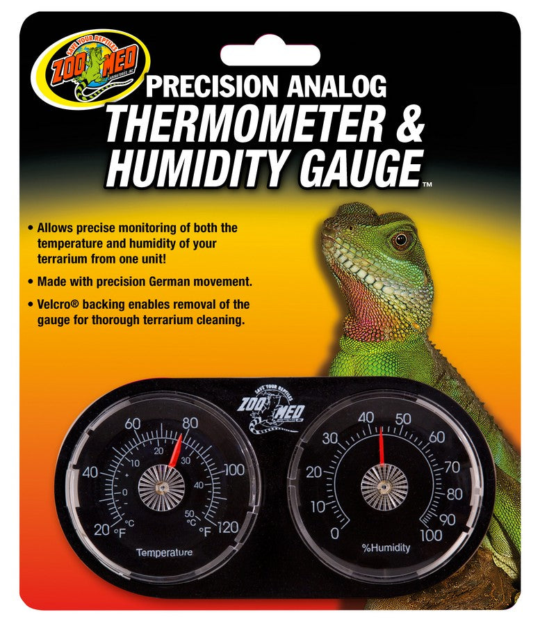 Zoo Med Dual Thermometer/Humidity Gauge