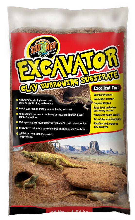 Zoo Med Excavator Clay Burrow