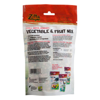 Zilla Reptile Munchies Vegetable and Fruit Mix 4 oz.