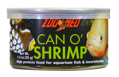 Zoo Med Can O' Shrimp- Fish Food