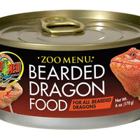 Zoo Med Bearded Dragon Food Adult Wet 6 oz.