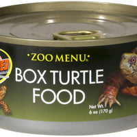 Zoo Med Box Turtle Food Can/Wet 6 oz.
