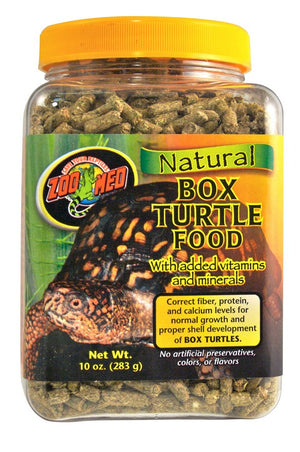 Zoo Med Box Turtle/Tortoise Food Pellets 10 oz.