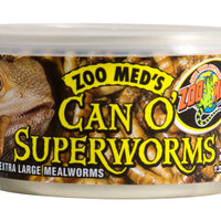 Zoo Med Can O' Superworm 1.2 oz.