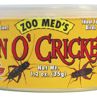 Zoo Med Can Of Crickets 60/Can 1.2 oz.