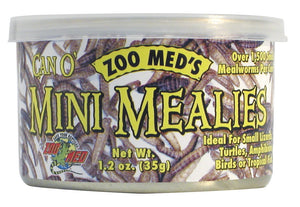 Zoo Med Can Of Mini Mealie 1500 1.2 oz.