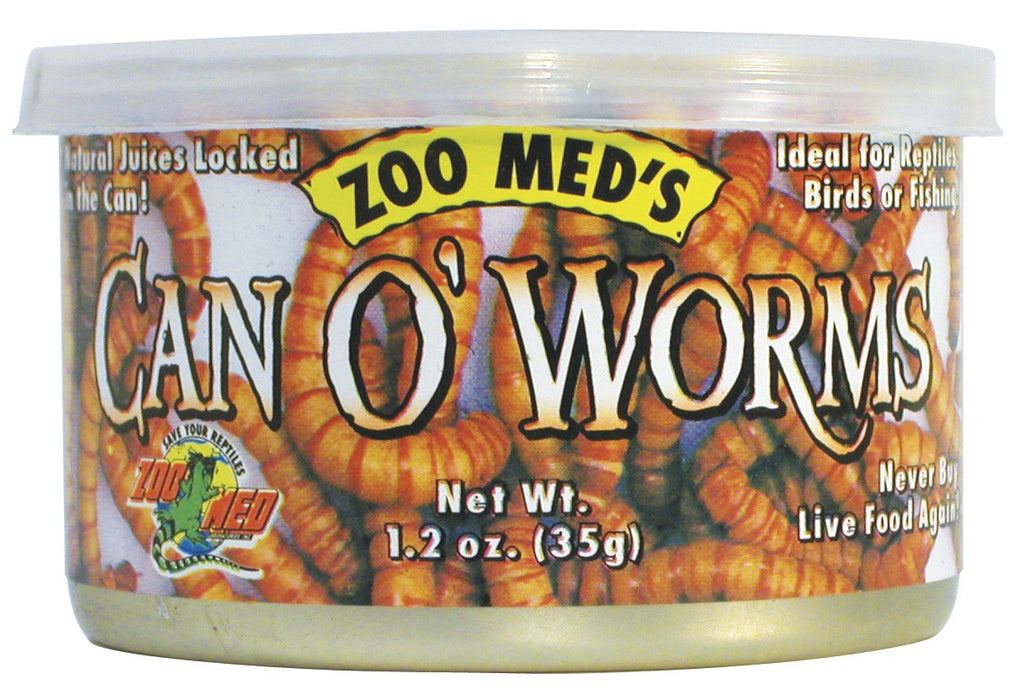 ZooMed Can Of Worms 300/Can 1.2 oz.