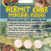 Zoo Med Hermit Crab Mineral Blocks