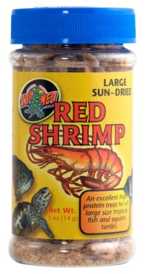 Zoo Med Jumbo Freezedried Red Shrimp .5 oz.