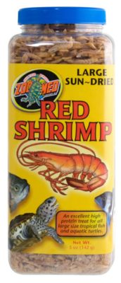 Zoo Med Jumbo Freezedried Red Shrimp 5 oz.