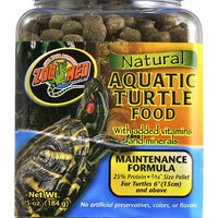 Zoo Med Natural Aquatic Turtle Food 24 oz.