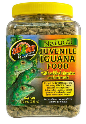 Zoo Med Natural Juvenile Iguana Food 10 oz.