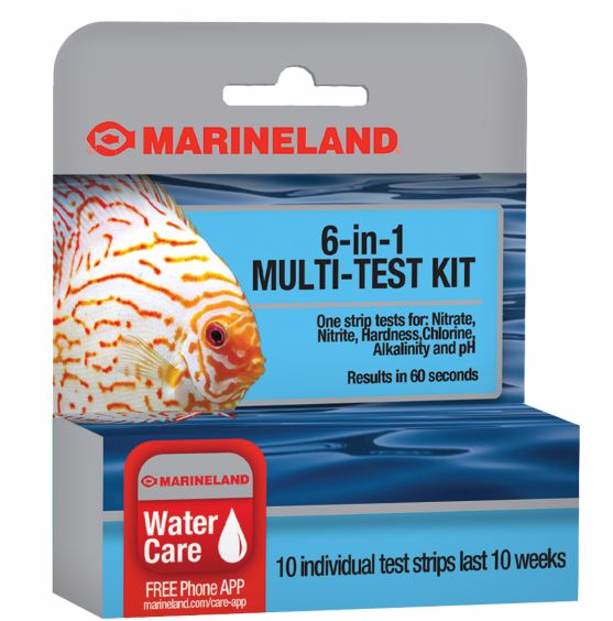 Marineland 6 in 1 Multi-Test Kit 10Ct