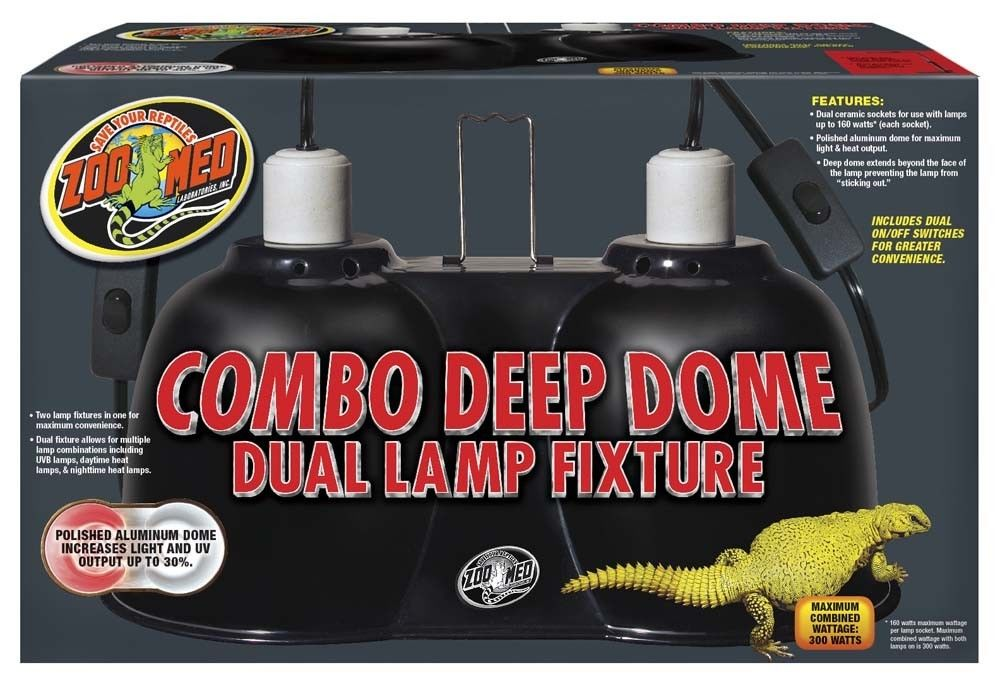 Zoo Med Large Combo Deep Dome Lamp