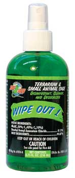 Zoo Med Wipe out 1 Professional Strength Size 32 oz.