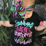 Rainbows, Fairies, Unicorns & Mermaids MULTICOLOR