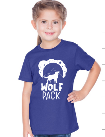 Wolf Pack Short Sleeve T Shirt ADULT
