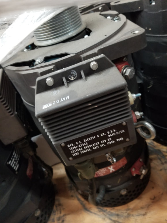 MRAP Alternator 28 Volts, 570 Amps, Fits: Category II A2 Cougar MRAPs