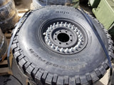 NEW HMMWV Humvee Hummer H1 M998 24 Bolt Tire and Wheel Assembly  37x12.50R16.5LT