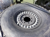SET OF 4 NEW HMMWV Humvee Hummer H1 M998 24 Bolt Tire and Wheel Assembly  37x12.50R16.5LT