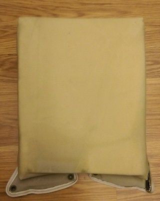 HMMWV Humvee M998 TAN Drivers Seat Back Cushion 12342061 2540-01-314-7835