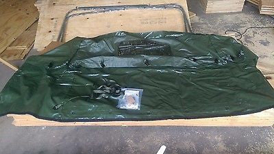 HMMWV Humvee, 4 MAN M998 Green Rear CARGO Extension Cover KIT 5581437