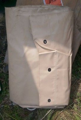 HMMWV HUMVEE M998 TAN 2 Man 1-1/4 TON FITTED COVER 12340761-2
